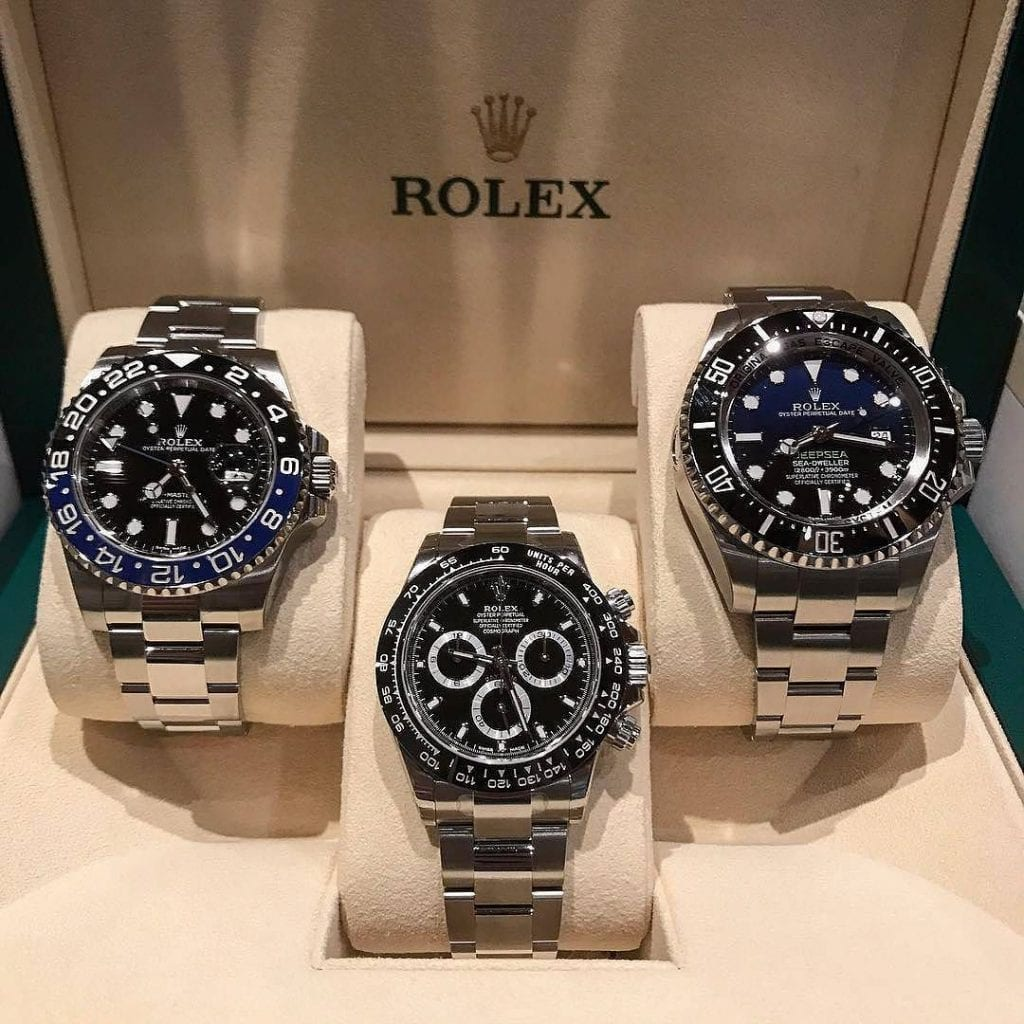 Rolex Trio