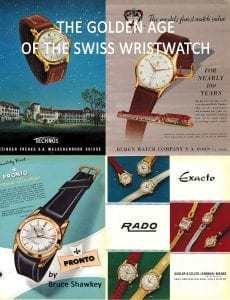 the golden age of the swiss wristwatch must read book for watch collectors